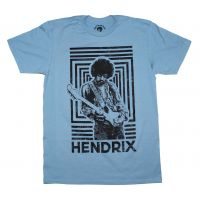 Jimi Hendrix Authentic Squares T-Shirt