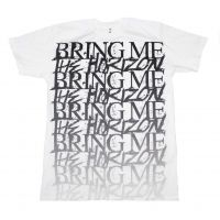 Bring me the Horizon Stacked Logo T-Shirt