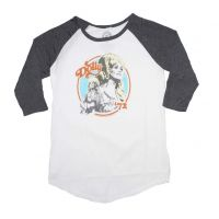 Dolly Parton Dolly 72 Juniors Raglan Sleeve Tee