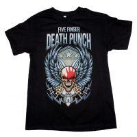 Five Finger Death Punch Wing Shield T-Shirt