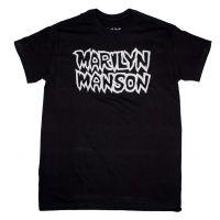 Marilyn Manson Classic Logo T-Shirt