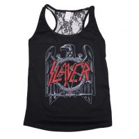 Slayer Eagle Lace Back Juniors Tank