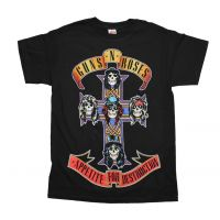 Guns n Roses Appetite For Destruction Jumbo Print T-Shirt