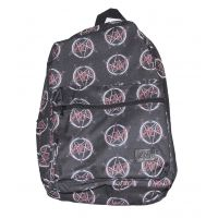 Slayer All Over Logo Print Backpack