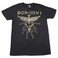 Bon Jovi Dagger Heart Soft Hand T-Shirt