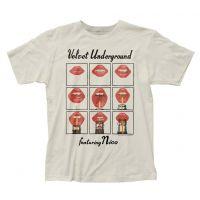 Velvet Underground Featuring Nico Lips T-Shirt