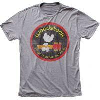Woodstock Logo Triblend T-Shirt