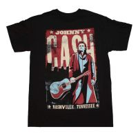 Johnny Cash Nashville Poster T-Shirt