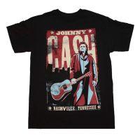 Johnny Cash Nashville Poster T-Shirt