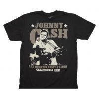 Johnny Cash San Quentin Stars T-Shirt
