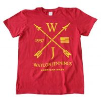 Waylon Jennings Arrows T-Shirt