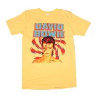 David Bowie Aladdin Sane Gold T-Shirt
