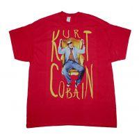 Kurt Cobain Sitting Chair Photo T-Shirt