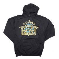 Outkast Gold Crown Logo Pullover Hoodie Sweatshirt