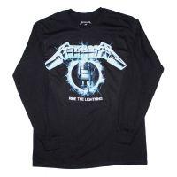 Metallica Ride the Lightning Long Sleeve T-Shirt