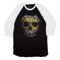 Metallica Now that We're Dead Raglan Sleeve Shirt