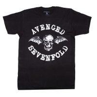 Avenged Sevenfold Skull Box Dateback T-Shirt