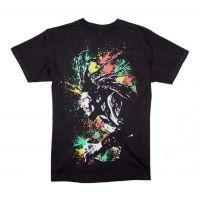 Bob Marley Splatter T-Shirt