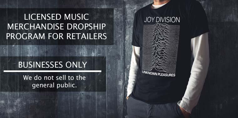 RocklineDropship.com Band T-Shirt Dropship Fulfillment