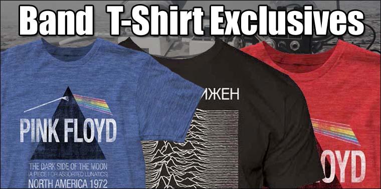 Dropship Band T-Shirt Exclusives