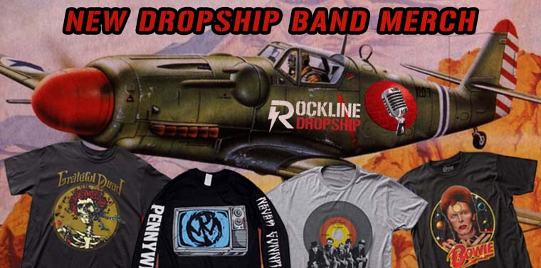 New Dropship Band T-Shirts