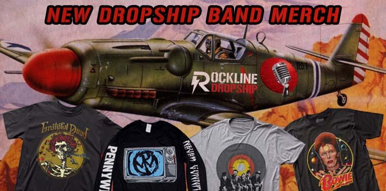 New Dropship Band T-Shirts