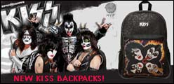 KISS Band Backpacks